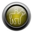 """Yellow Button (Dark/Glow) """"Horse Trail"""""""
