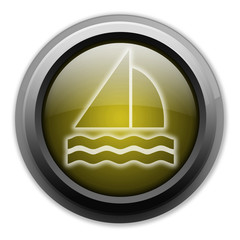 "Yellow Button (Dark/Glow) ""Sailing"""