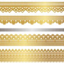 Gold spezielle Spitze