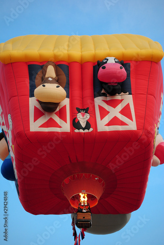 Fancy Hot Air Balloon.