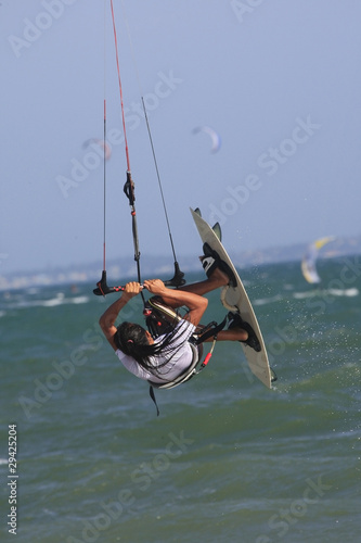 Kite-boarder