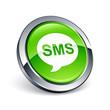 icône bouton internet message sms