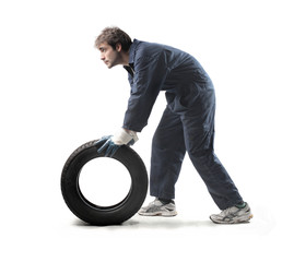 Tyre repairer