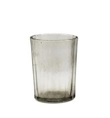 dirty empty glass