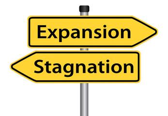 Expansion oder Stagnation