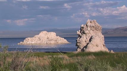 Rock Formations at Mono Lake