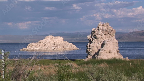 Rock Formations at Mono Lake