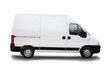 commercial white van