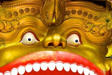 Sri Lanka, Dambulla: Temple d'Or, grottes sacrées