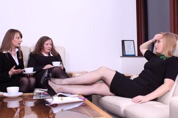 business team - coffe break