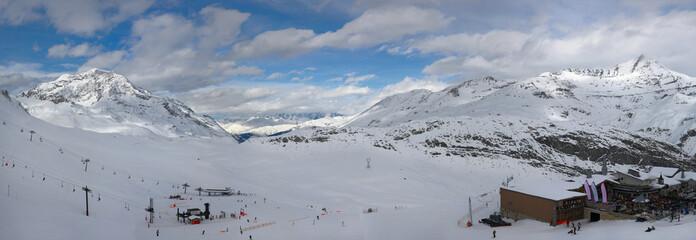Ski en alpes, Tignes