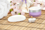 Items in spa for relaxing poster