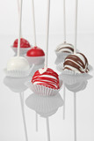 Pretty Cakeballs on Sticks