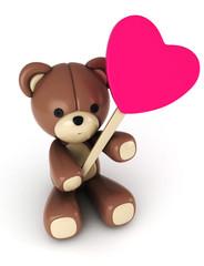 Valentine-themed Bear
