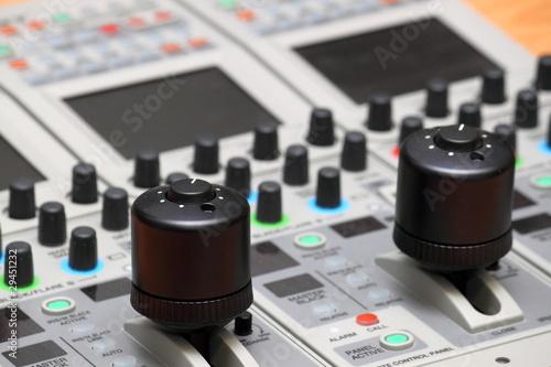 Detail in einem Fernsehstudio