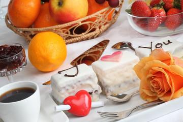 Valentine's Day Cake.