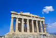 Parthenon temple in Acropolis at Athens, Greece