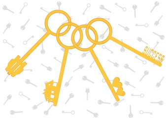 golden keys from life