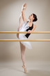 ballerina sulle punte