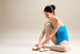 ballerina in preparazione