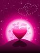 Valentinskarte für Girls
