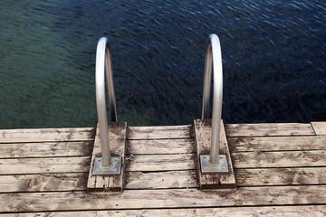 Leiter zum Wasser