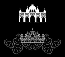Храм - архитектура Востока, Индии