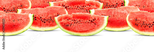 Big red watermelon