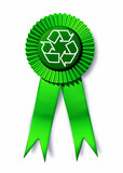 environment recycle reuse responsible symbol poster