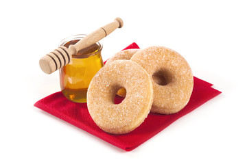 Donuts and honey