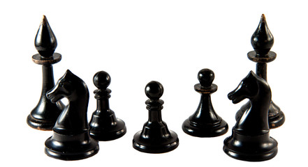 black chessmen