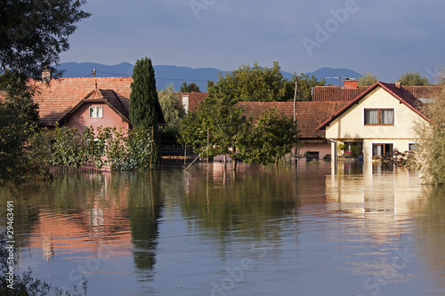 Flooded houses - 29463491