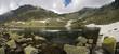 Layer of a Mountain lake