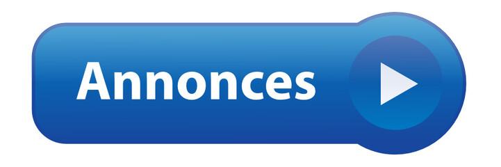 """Bouton Web """"ANNONCES"""" (petites journal presse vente d'occasion)"""