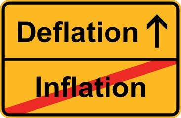 Deflation - Inflation