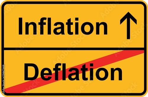 inflation deflation von unitypix lizenzfreier vektor 29467468 auf. Black Bedroom Furniture Sets. Home Design Ideas