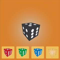 Four Color Dice