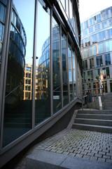 moderne Büroarchitektur im Mediapark