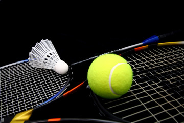 sport - tennis and badmington