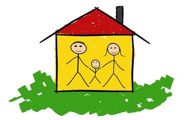 Familie und Haus II