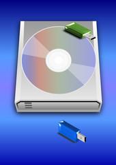 USB Stick CD Hard Disk