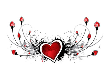 Abstract st Valentin's Day design