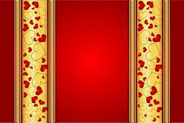 Beautiful decent Valentine´s day vector