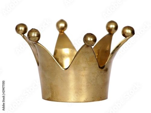 Fotobehang Carnaval Krone gold