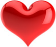 Heart. I Love You symbol. Saint Valentines Day icon
