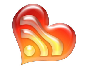 Rss icon heart