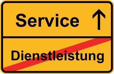 Service statt Dienstleistung