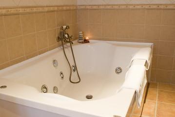 Bañera de hidromasaje.