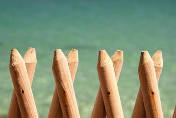 Paletti di legno - staccionata