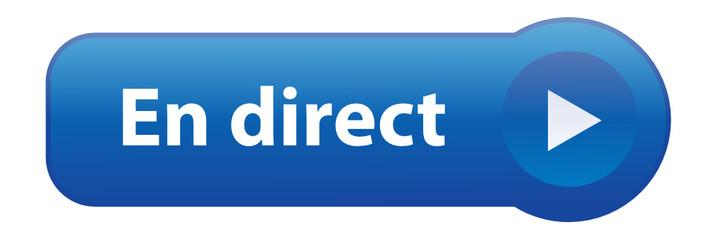 """Bouton Web """"EN DIRECT"""" (écouter suivre informations actualités)"""